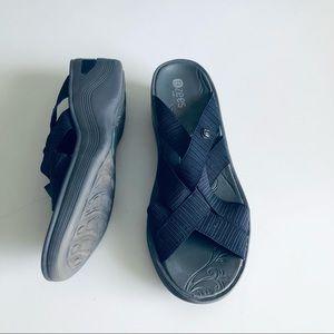 Bzees 'Disco' Strappy Comfort Sandals Blue SZ 8